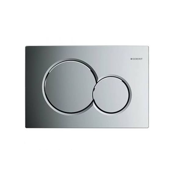 Geberit 115.770.21.5 Sigma01 Dual Flush Push Button Plate Gloss Chrome