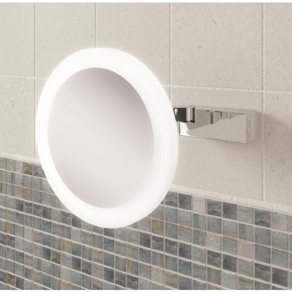 Libra LED Illuminated Magnifying Mirror