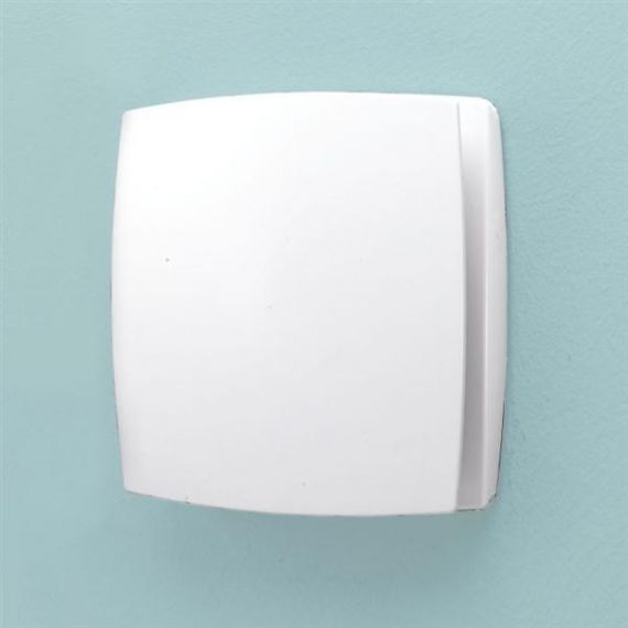 Breeze White Wall Mounted Extractor Fan Timer
