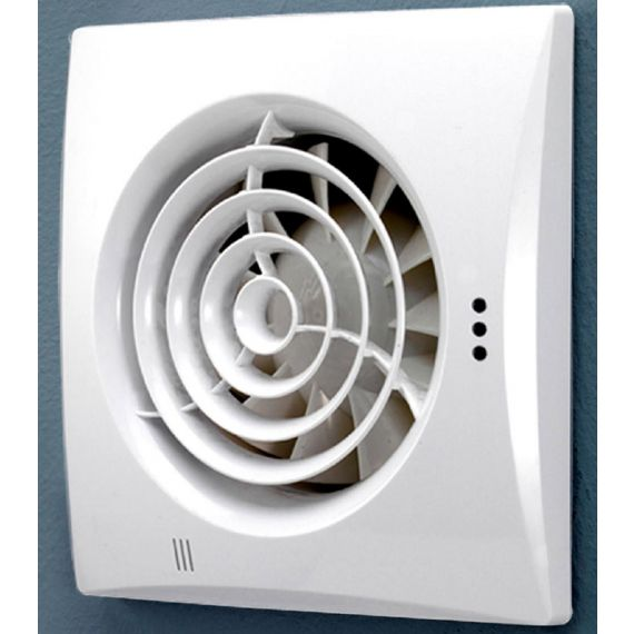 HIB Hush Extractor Fan Timer & Humidity