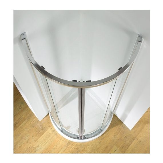 Kudos Original 910mm Centre Access Curved Sliding Shower Enclosure