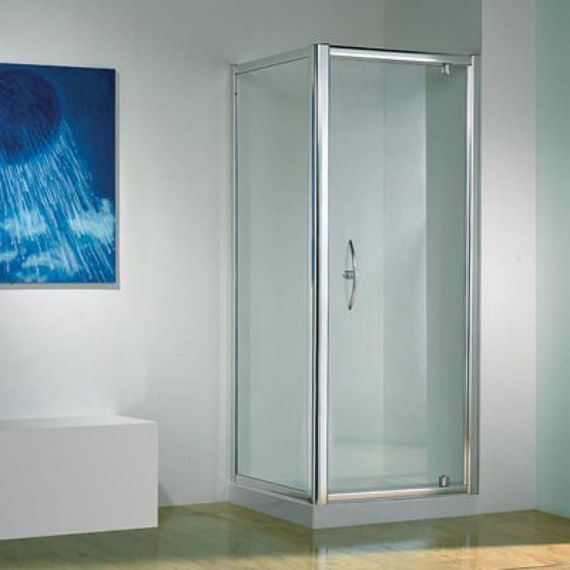Kudos Original 800 Silver Pivot Door
