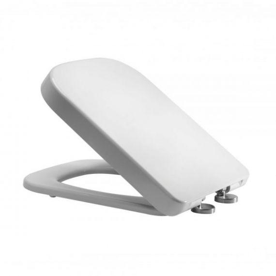 Wrap Over Square Soft Close Toilet Seat - Fits RAK 600, Pura Urban, K-Vit Options 600 & Vitra S20