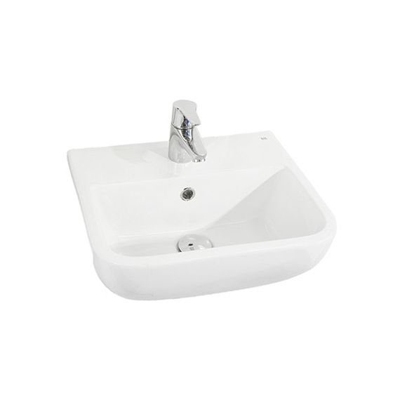RAK Series 600 Semi-Recessed Basin 420mm 2TH S60042SR