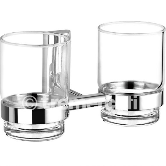 Tre Mercati Twiggy Wall Mounted Double Glass Holder 66320A