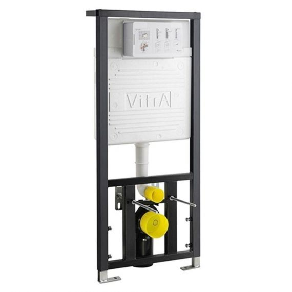 Vitra WC Frame & Concealed Cistern Floor/Wall 12cm 3/6 Litre
