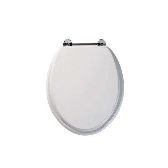 Roper Rhodes 8065WH Axis Real Wood Veneered Toilet Seat White