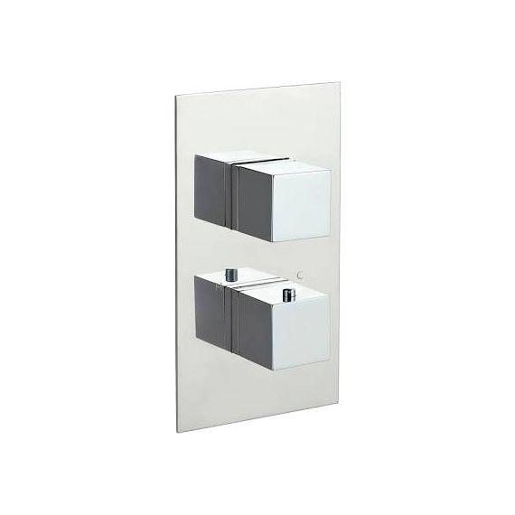JustTaps Athena thermostatic Concealed 3 Outlet Shower Valve 86681
