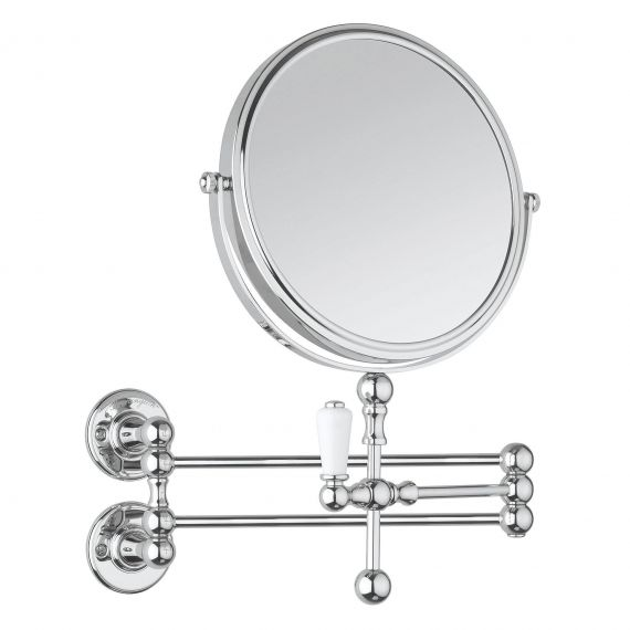 Burlington A57CHR Cosmetic Wall Mirror Chrome