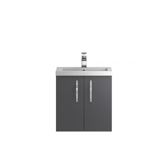 Wall Hung 500mm Cabinet & Basin