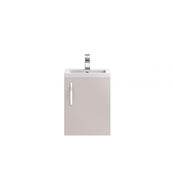 Wall Hung 400mm Cabinet & Basin