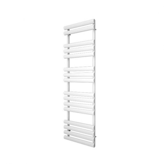 Reina Arbori Designer White Heated Towel Rail 820 x 500mm