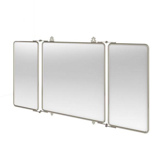 Arcade 3 Fold Chrome Mirror ARCA45CHR
