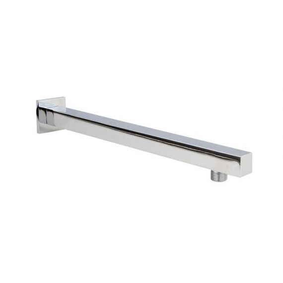 Nuie Square Wall Mounted Shower Arm 350mm