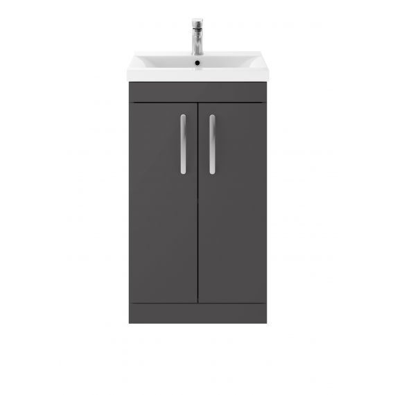 500mm Floor Standing Cabinet & Basin 1