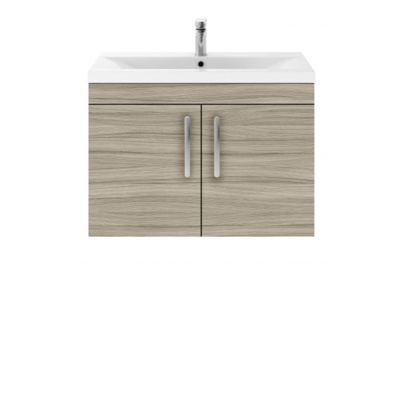 800mm Wall Hung  Cabinet & Basin 3