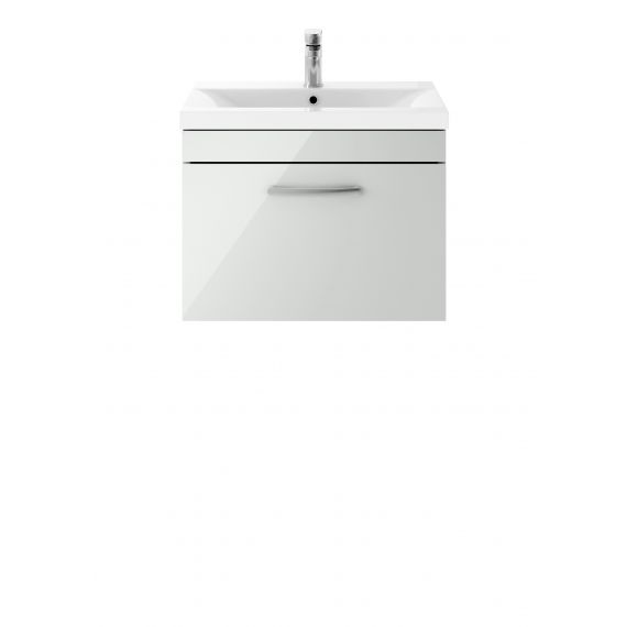 600mm Wall Hung Cabinet & Basin 3