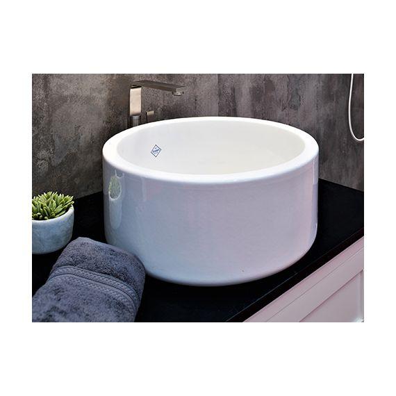 Shaws Aysgil White Bathroom Sink
