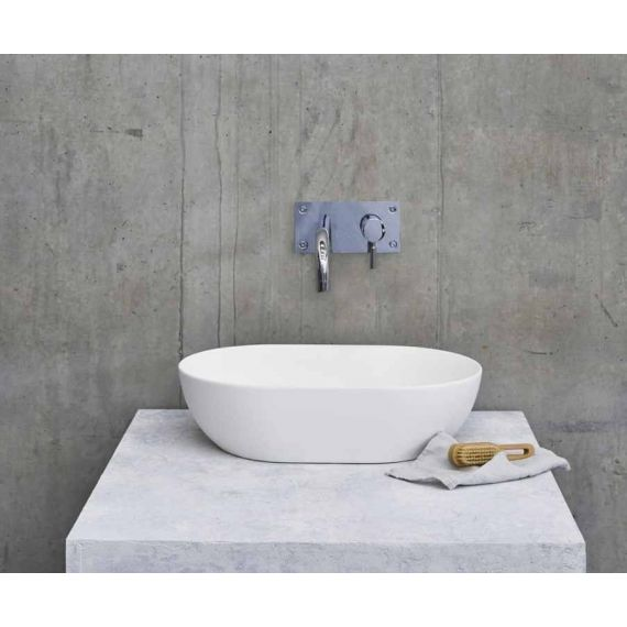 Clearwater B1ACSM Natural Stone Formoso Basin with Clearstone Matt Finish