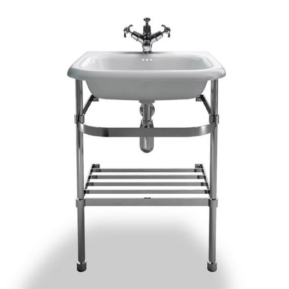 Small Traditional Roll Top Basin W550