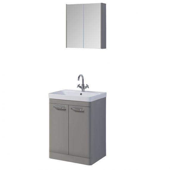 Alexander Grey 500mm Vanity Unit And Basin