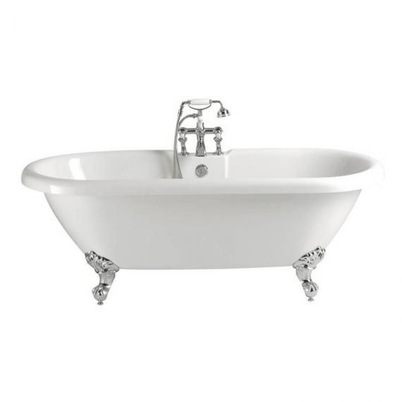 Heritage Baby Oban Roll Top Double Ended Freestanding Bath Inc Feet