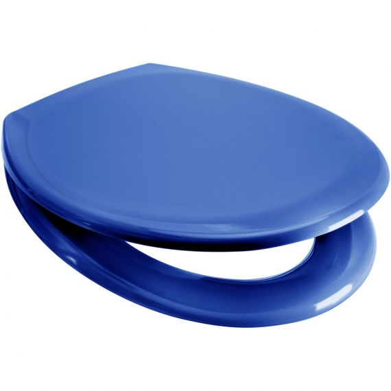 Rainbow BLUE Soft Close Quick Release Toilet Seat