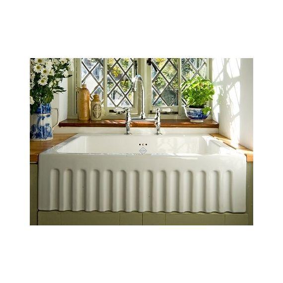 Shaws of Darwen Bowland Kitchen Sink 800 BLF5312WH