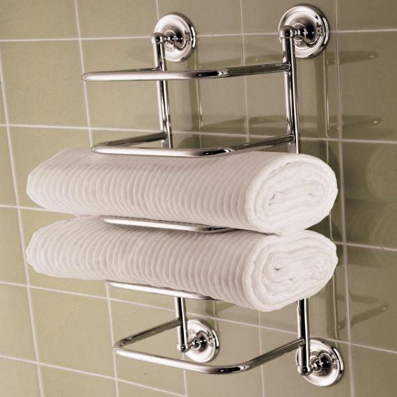Bristan Towel Stacker Chrome Plated Comp TSTACK1 C