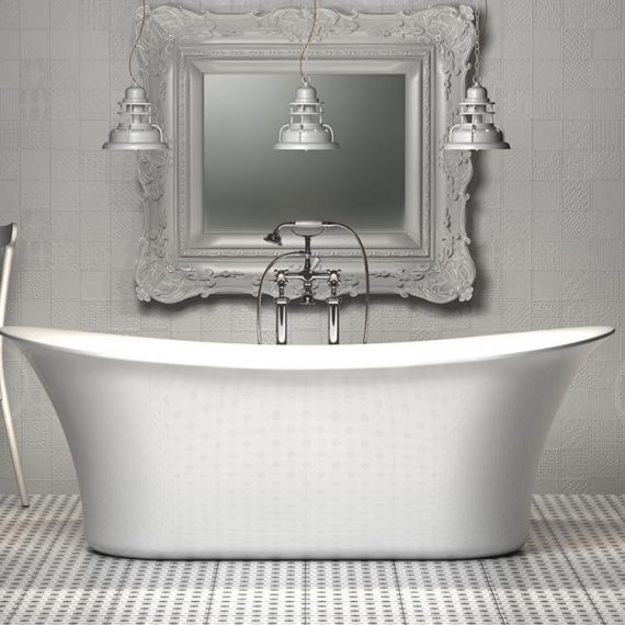 1670mm Admiralty Freestanding Bath Tub