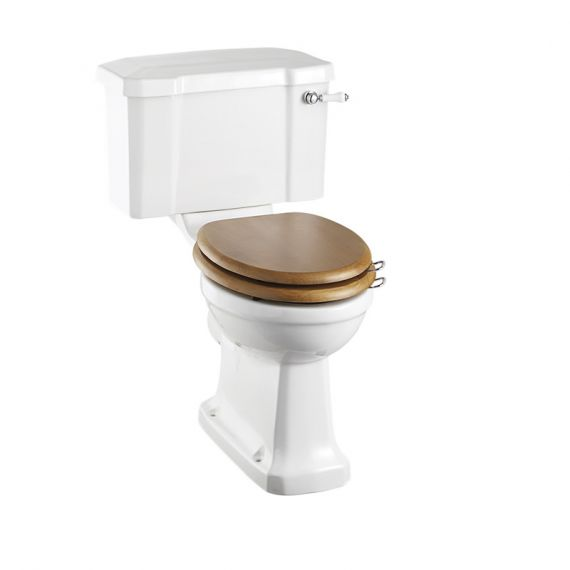 Burlington Regal Raised Height Close Coupled Toilet