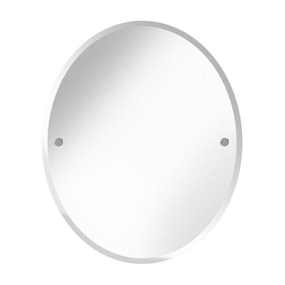 Bristan Oval 610 x 500mm Mirror COMP MROV Chrome