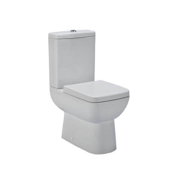 Compact Semi Flush to Wall WC