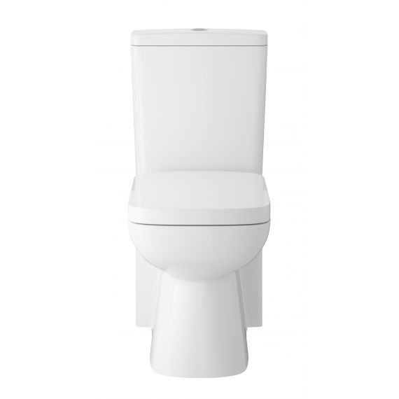 Compact Flush to Wall Pan, Cistern & Seat