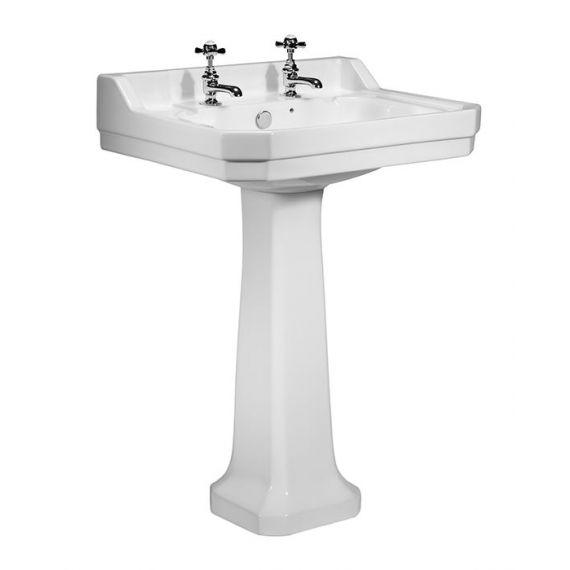 Vitoria 605 Basin & Pedestal 2TH