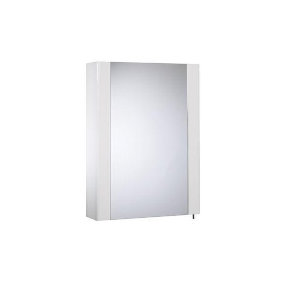 Detail 1 Door White Cabinet