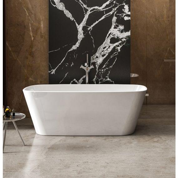 Charlotte Edwards Mimas 1700x750mm Free Standing Bath Tub