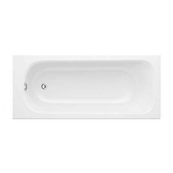 Trojan Derwent 5mm 1600 x 700 Bath Tub