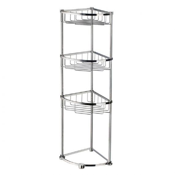 Smedbo Sideline Design Corner Soap Basket 3 level