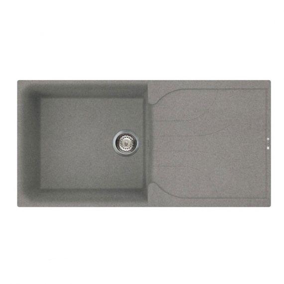 Reginox Ego 480 1.0 Bowl Granite Grey Titanium Kitchen Sink EGO480TT