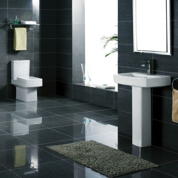 Kartell Embrace 4 Piece Bathroom Suite With Soft Close Seat