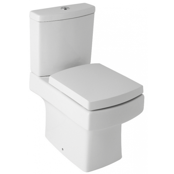 Embrace Close Coupled Square Toilet And Soft Close Seat