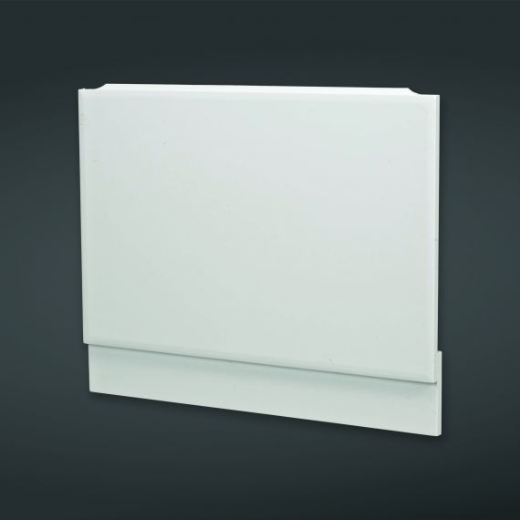 700x585mm High Gloss White End Bath Panel