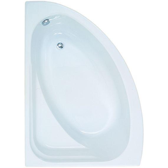 Frontline Orlah Offset Corner Bath - Left Hand 1500 x 1040mm