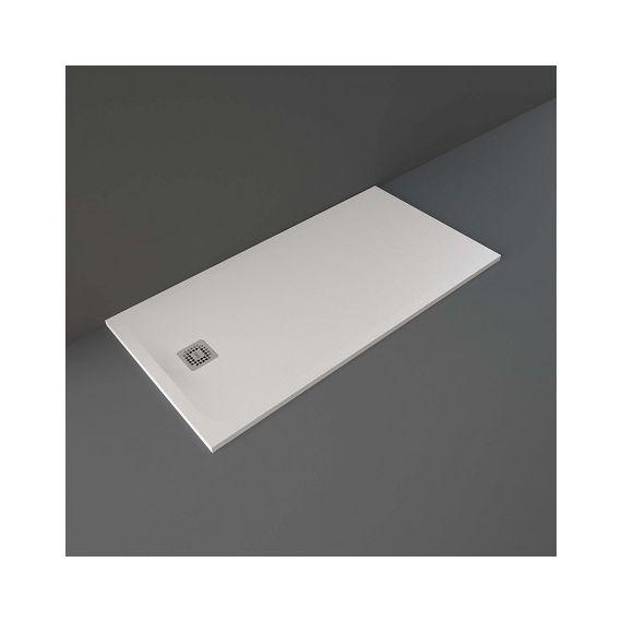 Rak Feeling 1600 x 800mm Rectangular Bath Tub Replacment Shower Tray White