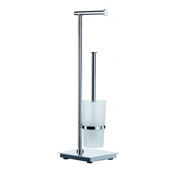 Smedbo Outline Lite Toilet Roll Holder/Toilet Brush