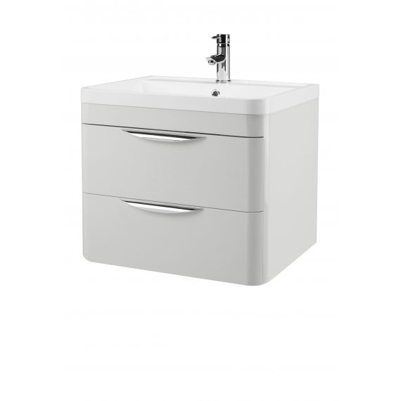 600mm Wall Hung Cabinet & Basin