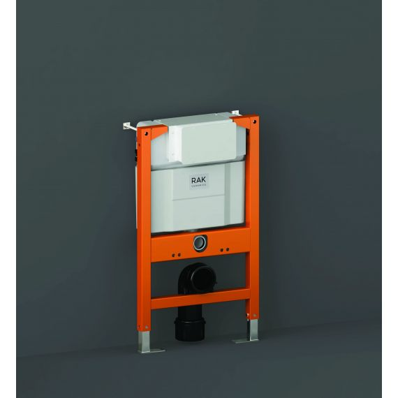 RAK-Ecofix Top/Front Flush Concealed Cistern and Frame for Wall Hung Pans - Frame Height 82cm
