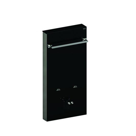 Obelisk Cistern Cabinet for Wall Hung Bidet in Black