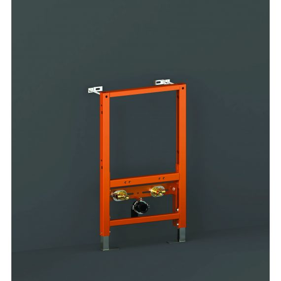 RAK-Ecofix Concealed Bidet Support Frame with Adjustable Fittings - Frame Height 82cm
